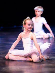 The Nutcracker little snowflakes scene - Northamptonshire School of Dance